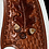 Thumbnail: Western Hat Hand tooled, cut leather trim Sunbody Hat Size 7 1/2#11
