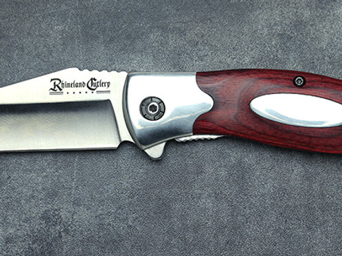 3.5″ Folding Knife w/ Sheath by Rhineland Cutlery