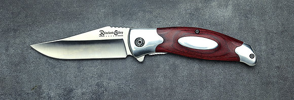 3.5″ Folding Knife w/ Sheath by Rhineland Cutlery
