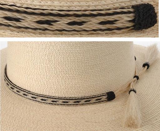 5 Strand Horse hair Hatband Pattern 2