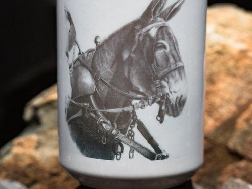 Mule in Harness