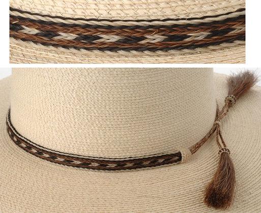 5 Strand Horse hair Hatband Pattern3