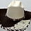 Thumbnail: Western Cowboy Hat with Cowhide and Crystal Hat Band Size 6 /34 #47