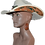 Thumbnail: Western Hat Hand tooled, cut leather trim Sunbody Hat
