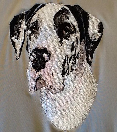 GREAT DANE This is just a sample of the embroidery we do,