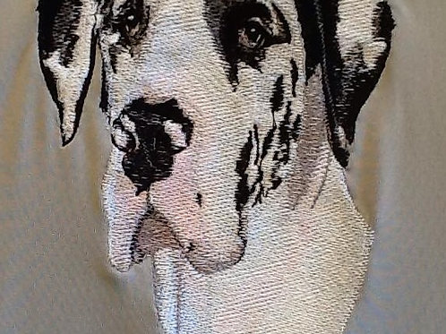 GREAT DANE This is just a sample of the embroiderywe do,