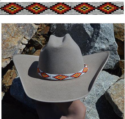 "3/4""Stretch Beaded Hatband"