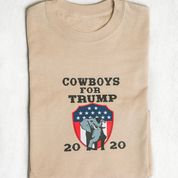 Cowboys for Trump 20/20 with American Plaque and Elephant