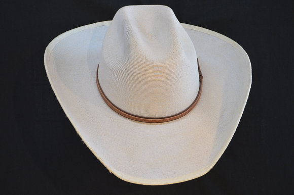 Western Cowboy  Cattleman Sunbody Palm Leaf Hat