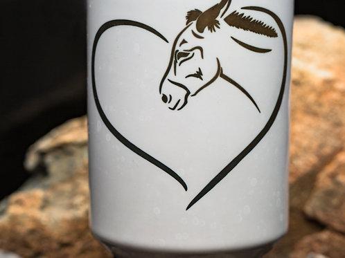 Donkey in Heart