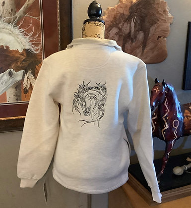 Unisex Jacket with outline of Arabian