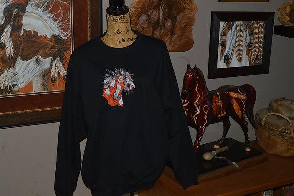 Lynn Bean Feathered War Pony
