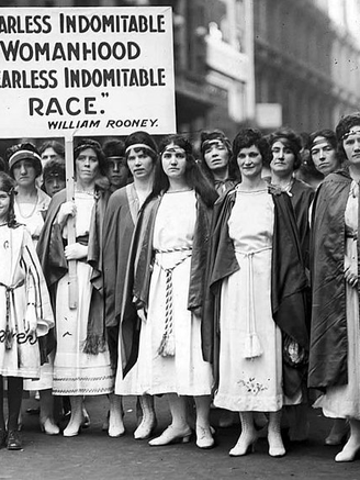 100th Anniversary Women's Suffrage