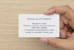 Priority One Business Cards