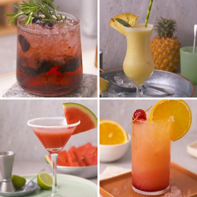4 Simple Iconic Cocktails