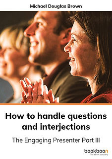 How to handle questions and interjection