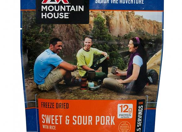 Sweet & Sour Pork w/Rice