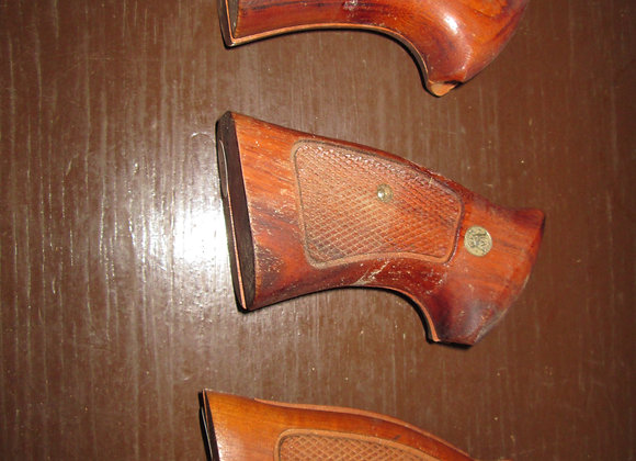 S&W wood grips, K/L Frame, used