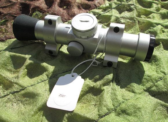 Red-dot pistol scope
