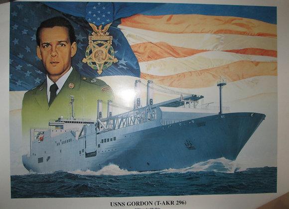 Ship commissioning print