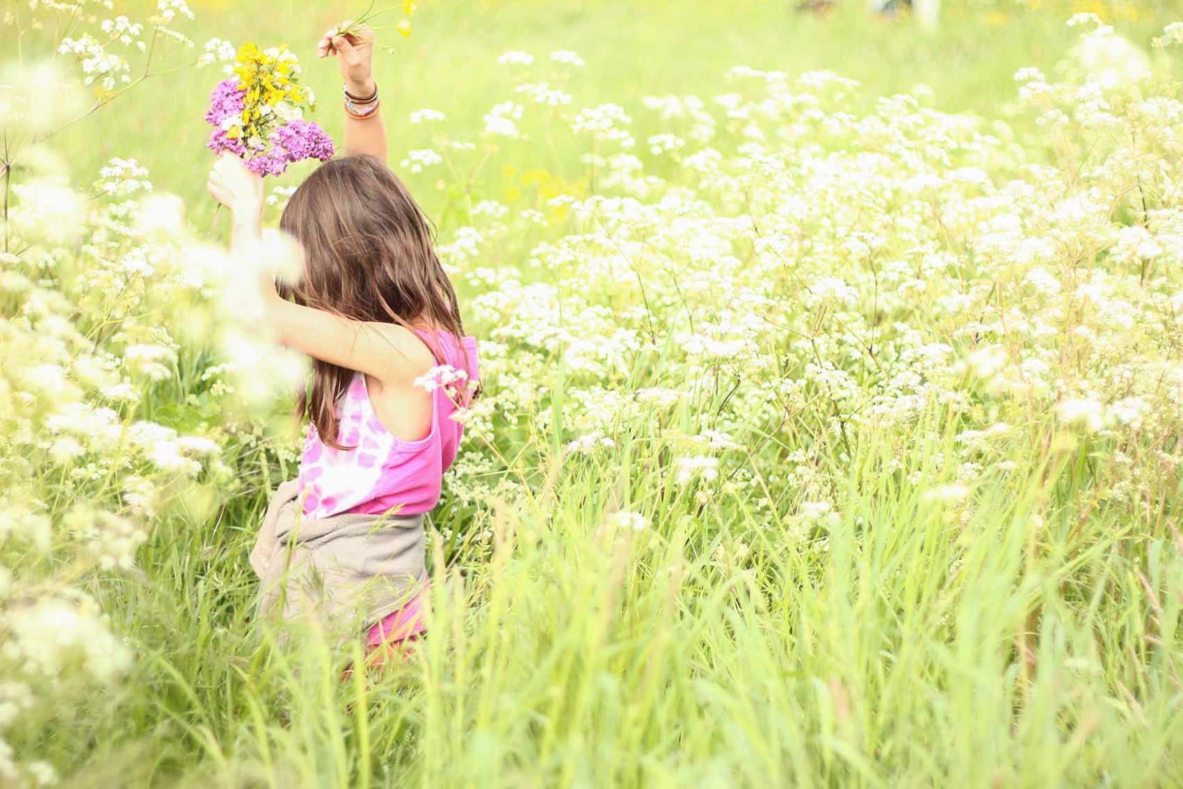 Danse dans les fleurs