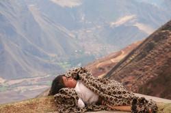 Pérou, sieste au bord du precipice