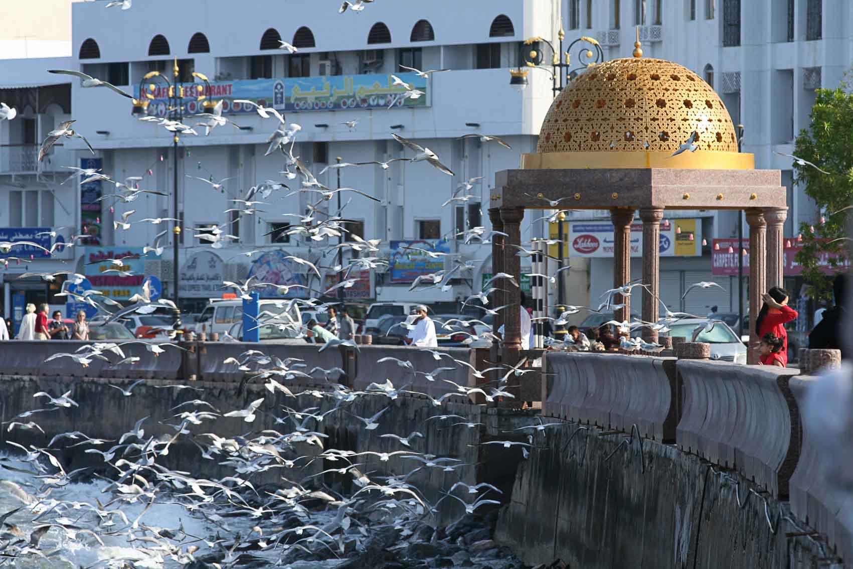 Oman, Corniche de Muttrah