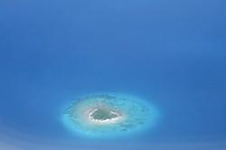 Polynésie Française, motu isolé