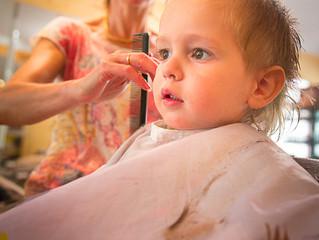 Portrait chez le coiffeur