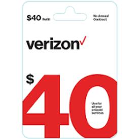 Verizon $40 Refill Service