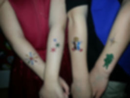 Airbrush Tattoo Examples