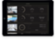 Urbane Amenities feature mockup on a tablet.