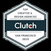 Neuron award for Clutch Top Creative & Design Agencies San Francisco 2019