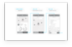 Sample Neuron wireframes and flows