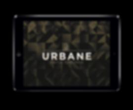 The Urbane digital concierce on an iPad tablet.