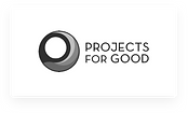 Projects for Good Logo on Neuron UI UX Design Agency Homepage