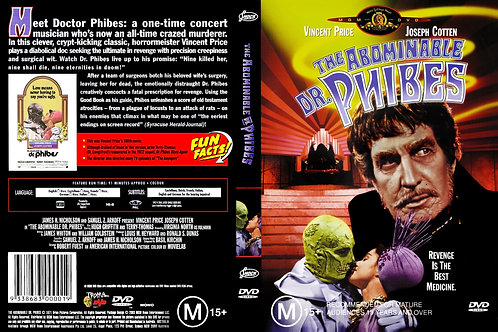 The Abominable Dr. Phibes (DVD)