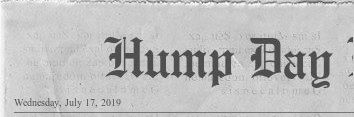 Hump Day Headline #31