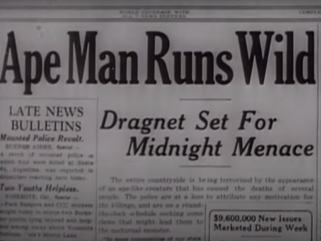 Ripped from the Headlines: The Ape Man (1943)