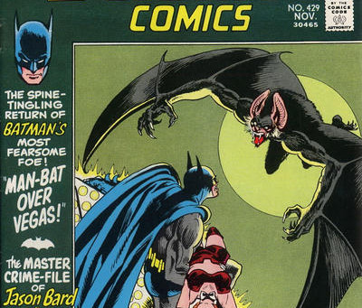 Man-Bat Pt. 5: Detective Comics #429