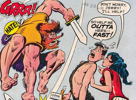 Wonder Woman w/o Powers Pt. 37: The Adventures of Jerry Lewis #117