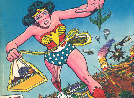 Wonder Woman w/o Powers Pt. 41: The Past & the Future