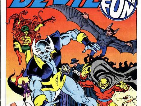 Man-Bat Pt. 32: Blue Devil Annual #1