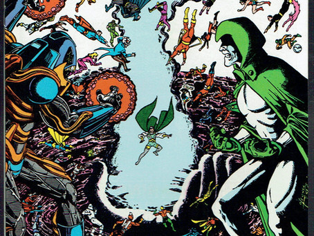 Crisis on Infinite Earths #11: Pt. 93