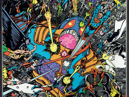 Crisis on Infinite Earths #12: Pt. 99