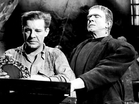 Universal Monsters: Frankenstein Meets the Wolf Man (1943)