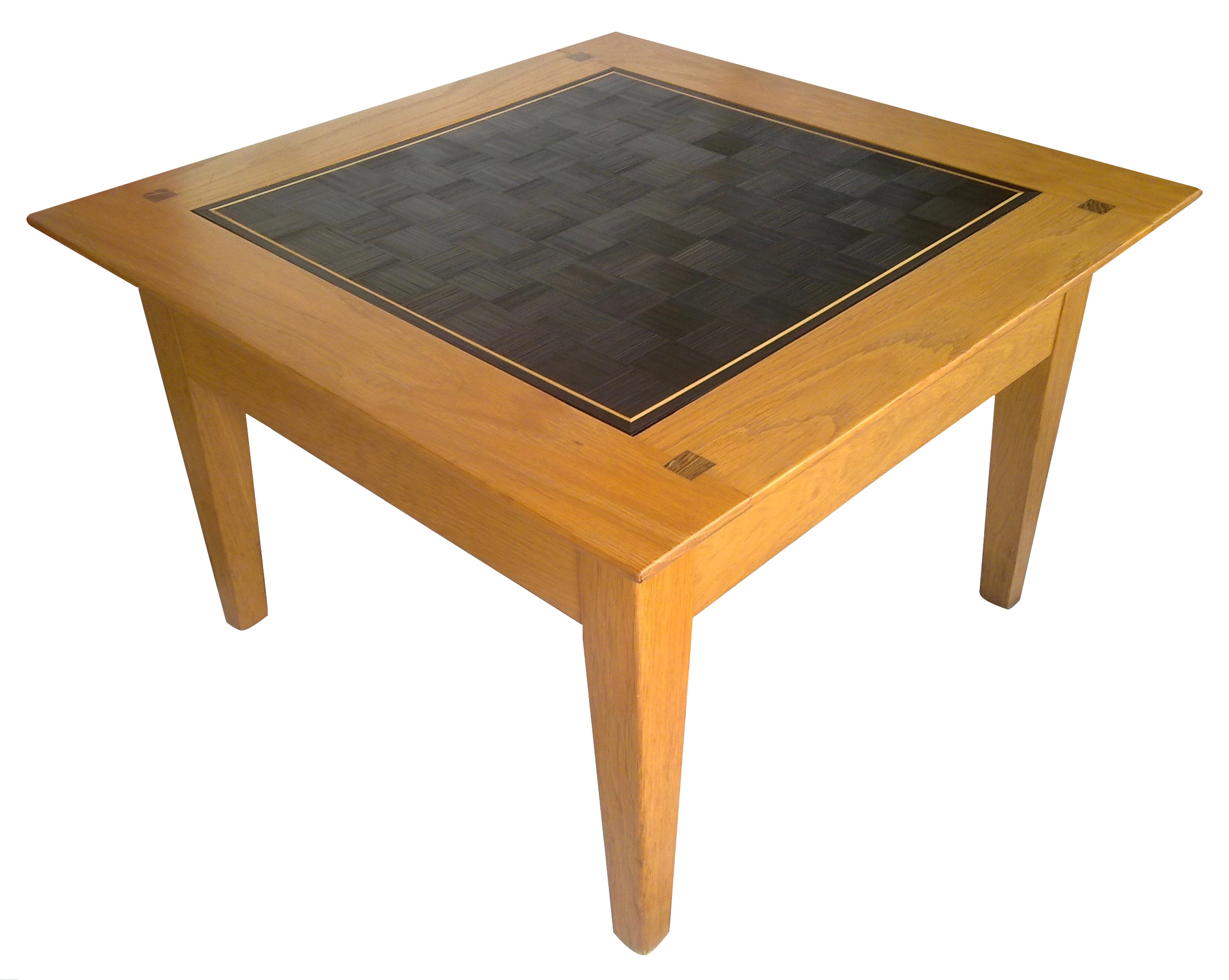 Table basse - Damier