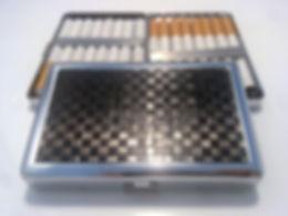 Marqueterie de paille - Etui cigarette - porte cartes - Artisanat d'art - Made in France