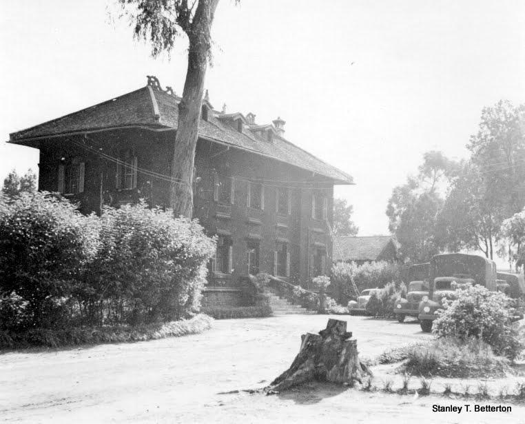 """Kunming Post Office, """"Stamp"""" Smiths' yard, Kunming December 1941 (china009)"""