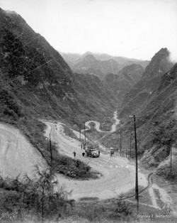 Climb out of Tungtse, Kweiyang, Chungking  (china032)